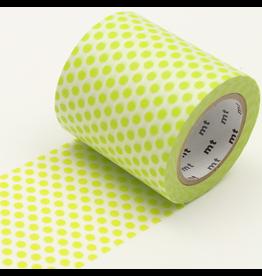 MT  MT casa washi tape Dot lime 50 mm