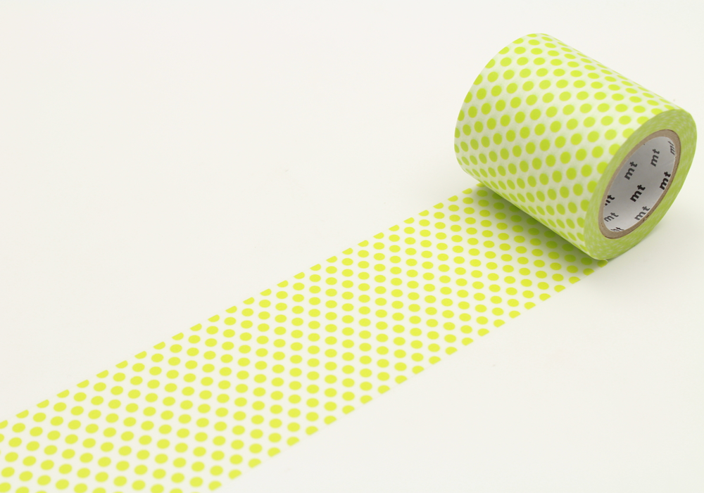 MT washi tape casa Dot lime 50 mm