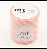 MT casa Stripe salmon pink 50 mm