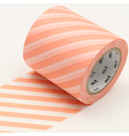 MT  MT washi tape casa Stripe salmon pink 50 mm