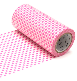 MT  MT washi tape casa dot pink 100 mm