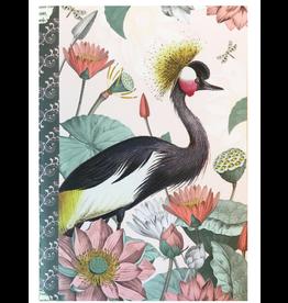 Gwenaëlle Trolez Créations Geïllustreerd petit notebook Nenuphars