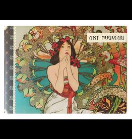 Gwenaëlle Trolez Créations Geïllustreerd petit notebook Art Nouveau