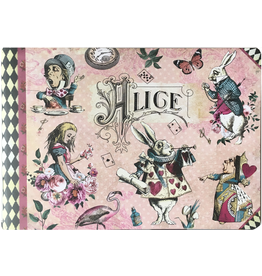 Gwenaëlle Trolez Créations Geïllustreerd notebook Alice in Wonderland