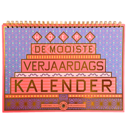 Uitgeverij Snor De mooiste verjaardagskalender