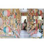 MT washi tape deco Tsugihagi blue x pink