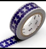 MT washi tape deco Ladder dot blue
