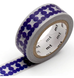 MT  MT washi tape deco Ladder dot blue