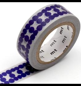 MT  MT washi tape deco Ladder dot blue