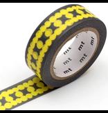 MT masking tape deco Ladder dot yellow
