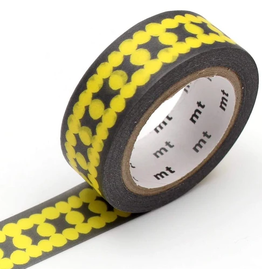 MT  MT washi tape deco Ladder dot yellow