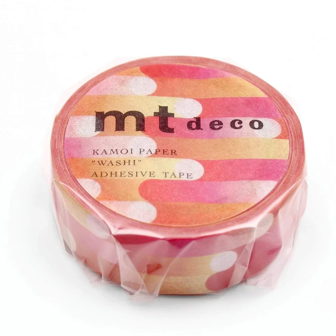 MT masking tape deco Motion pink