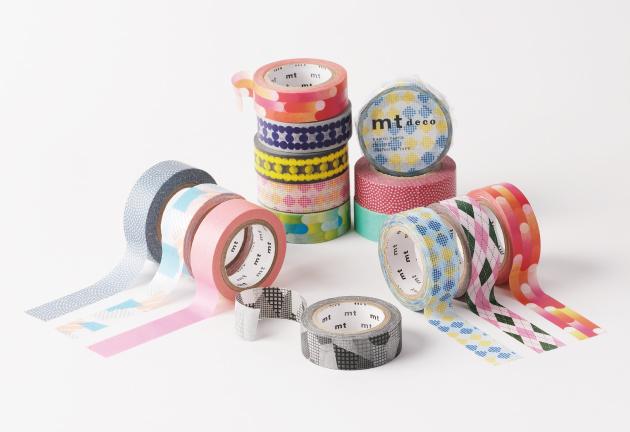 MT masking tape deco Motion blue