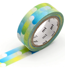 MT  MT washi tape deco Motion blue