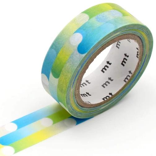 MT washi tape deco Motion blue