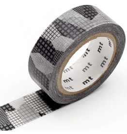 MT  MT washi tape deco Separate check monochrome