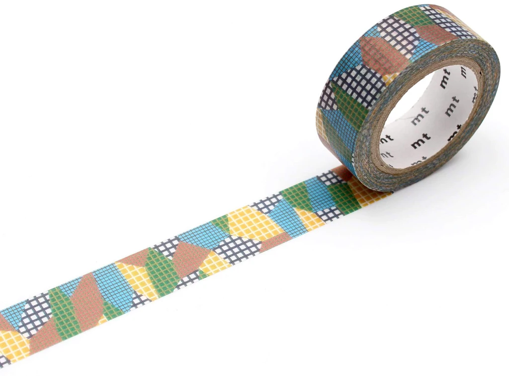 MT masking tape deco Separate check dull tone