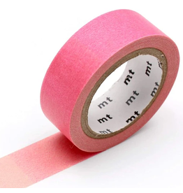 MT  MT washi tape deco Fluorescent pink x green