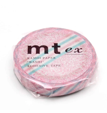 MT masking tape slim Pink flower stripe