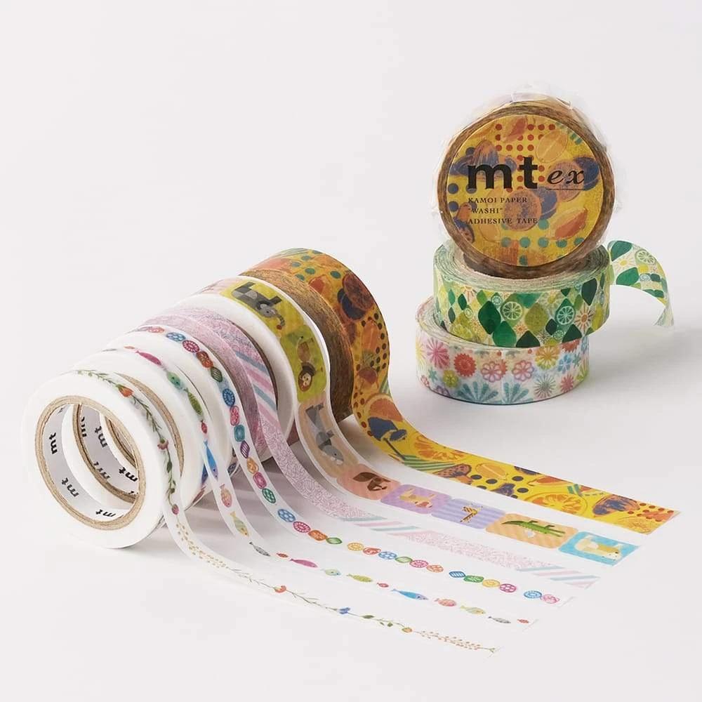 MT washi tape slim Fish line