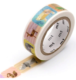 MT washi tape ex Geometric animals