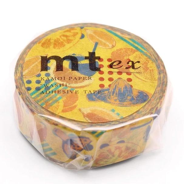 MT masking tape ex Orange juice