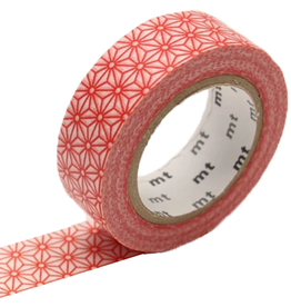 MT  MT washi tape asanoha shuaka