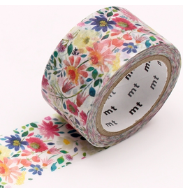 MT  MT x Bluebellgray Washi Tape Zinnia