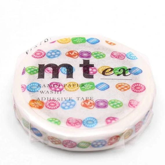 MT washi tape slim Drops line