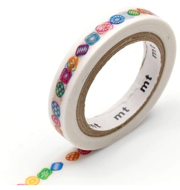MT  MT washi tape slim Drops line