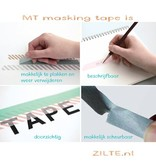 MT masking tape deco Diagonal green