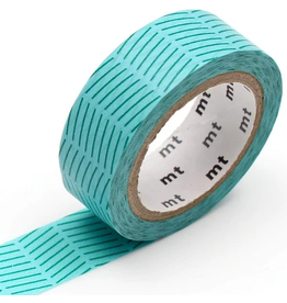 MT  MT washi tape deco Diagonal green