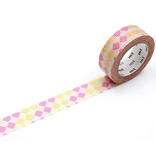 MT washi tape deco Checkers stripe pink