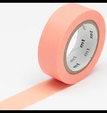 MT washi tape salmon pink