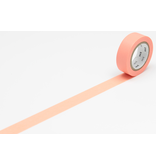 MT washi tape salmon pink