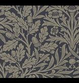 MT casa fleece William Morris Pure Acron Charcoal/Gilver