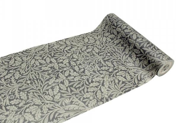 MT casa washi fleece William Morris Pure Acron Charcoal/Gilver