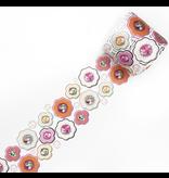 MT washi tape Fab die-cut Flower & Pearl