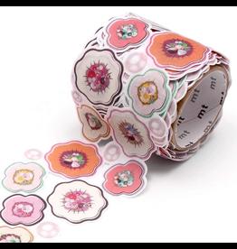 MT  MT masking tape Fab die-cut Flower & Pearl