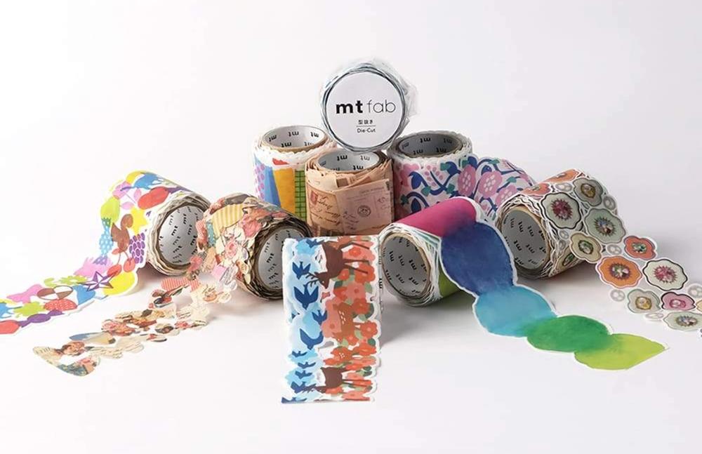 MT masking tape Fab die-cut Flower & Vine