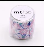 MT washi tape Fab die-cut Flower & Vine