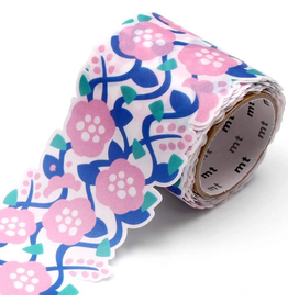 MT  MT washi tape Fab die-cut Flower & Vine