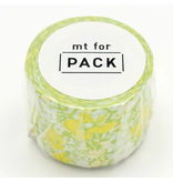 MT washi tape for Pack Flower pattern