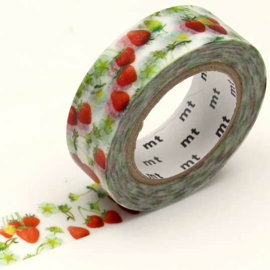 MT washi tape Strawberry