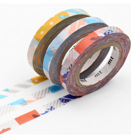 MT  MT washi tape slim deco G