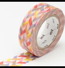 MT  MT masking tape slash red