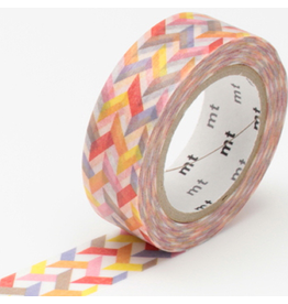 MT  MT washi tape slash red