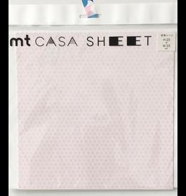 MT  MT casa Plaster sheet Asanoha tsutsuji