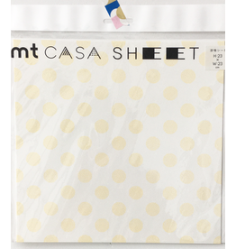 MT  MT casa Plaster sheet Dot yellow