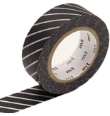 MT masking tape stripe black
